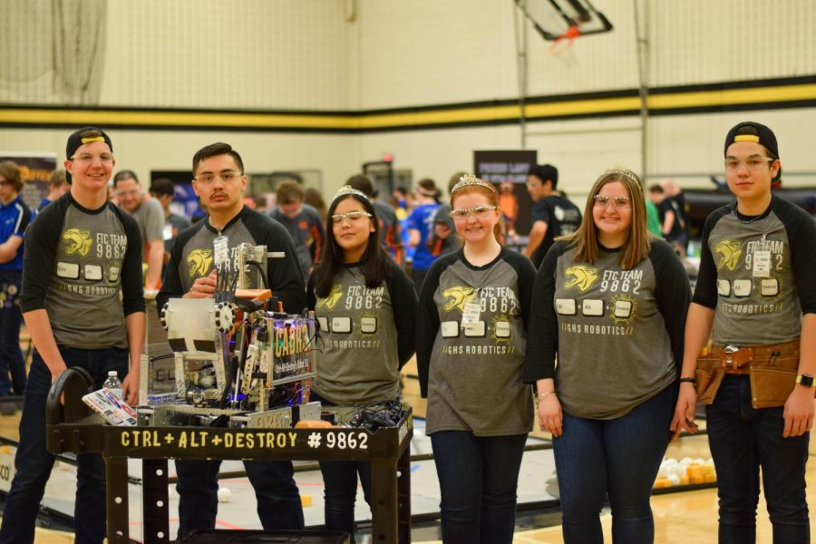 GHS Hosts NorWestin Robotics Tournament