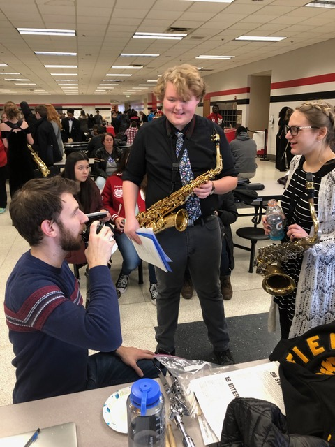Band Students Score at ISSMA, Head To State