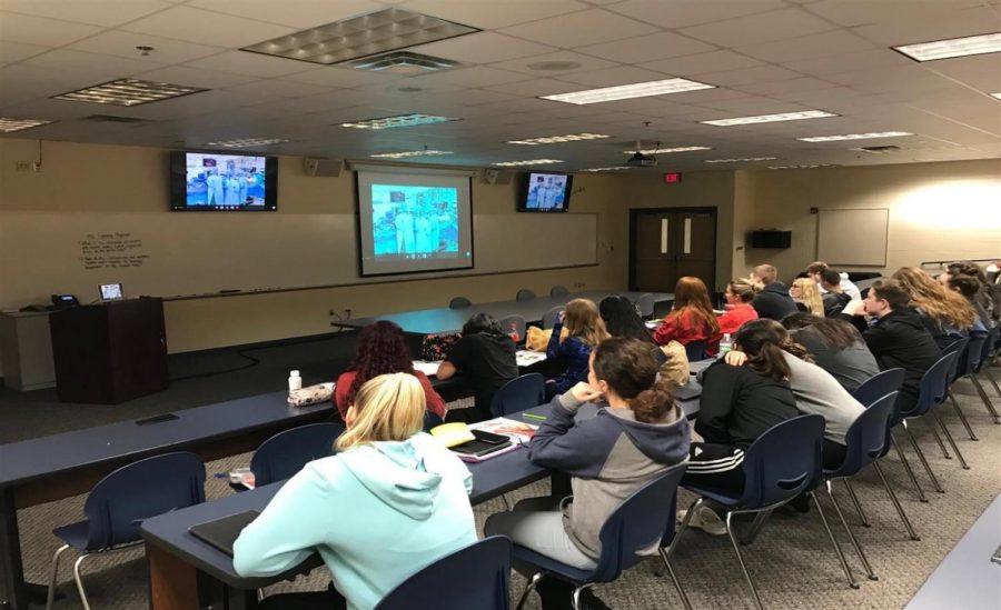 BioMed Class Experiences Live Open Heart Surgery