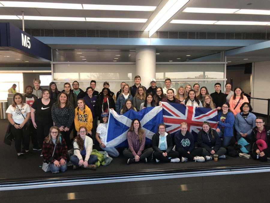 GHS Travel Visits Scotland, England