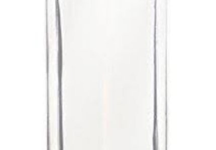 Glass water bottles, such as this one from Glasstic, offers a BPA free reusable water bottle.