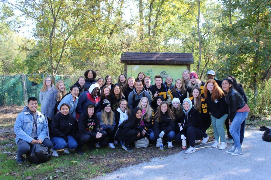 Student Council Learns Leadership at Iron Oaks Field Trip