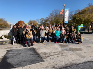 AP Biology, Psychology Classes Visit Brookfield Zoo