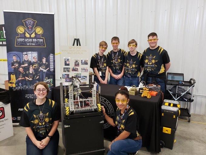 Robotics Team Need More Zip-Ties Goes for the Glory