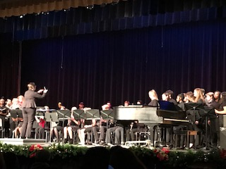 GHS Band and Choir Dept. Concert Celebrates the Holidays