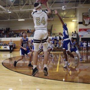 Griffith Varsity Boys Basketball Beat Merrillville