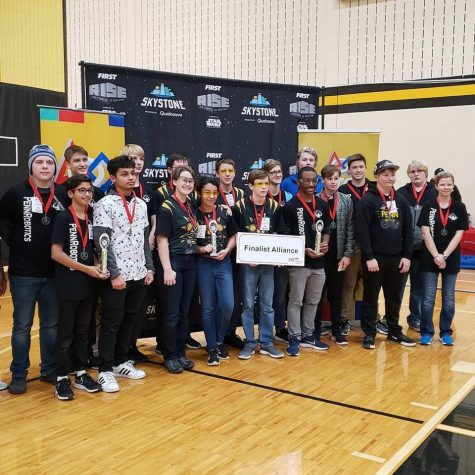 GHS Robotics Competes in First Tournament of Season