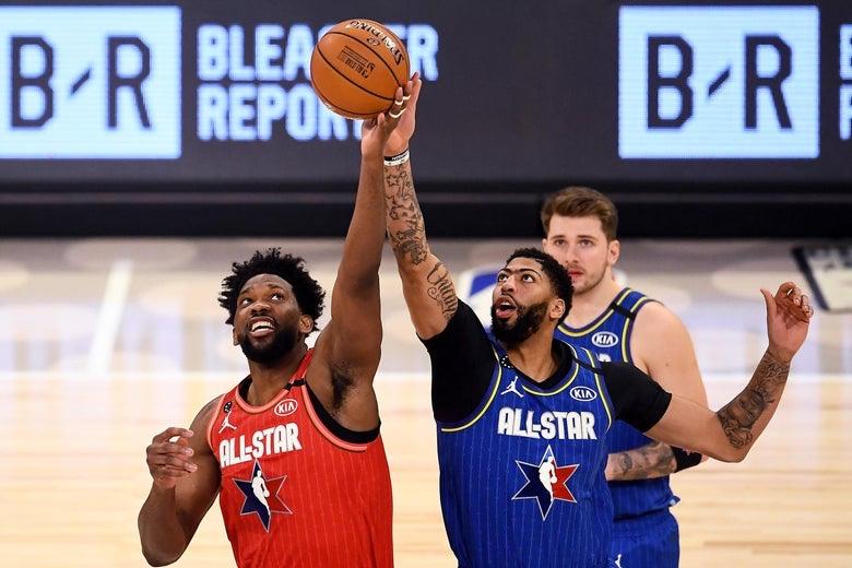 NBA All-Star Honors Kobe Bryant, Shows Off Stars