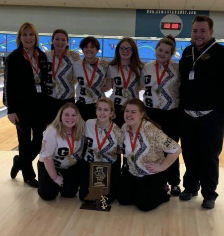 Varsity Girls Bowling Team Wins State, Glory