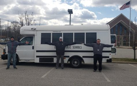 GHS Feeds Community with Lunch Bus and Drive Through