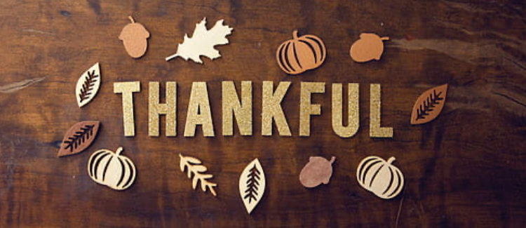 Griffith High School Students and Faculty Show Us What They Are Thankful For This Season