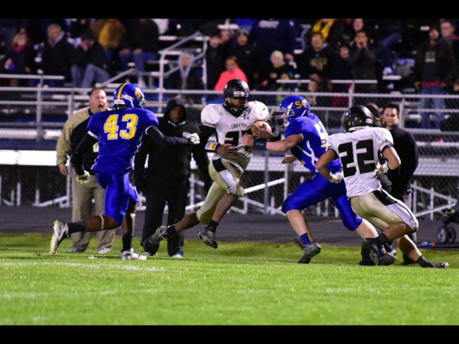 Griffith Football Takes Big Win Over Rival Highland