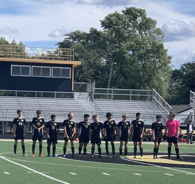 Griffith Boys Soccer Dominates Hebron