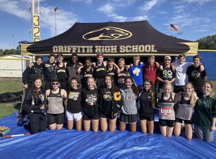 Griffith Cross Country's Last Meet Before Sectionals